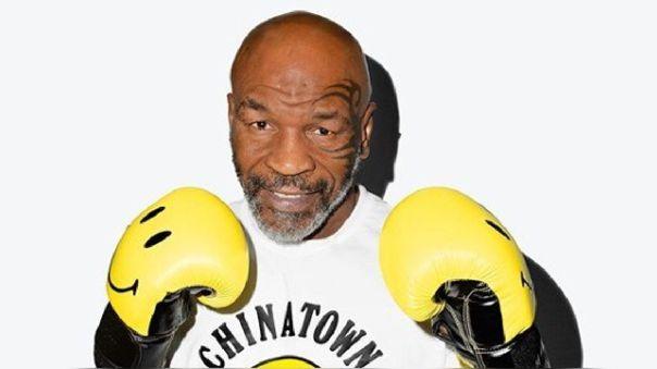 Mike Tyson está entrenando