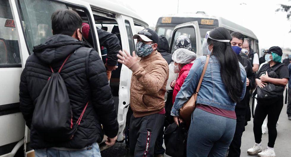 Transportistas de Lima