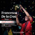 Pedro Castillo celebró la victoria peruana en el Mundial de Globos
